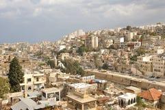 城市黎巴嫩的黎波里 库存图片