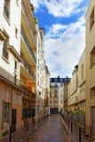 城市, Paris.France都市看法。 库存照片