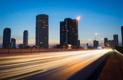 城市移动 免版税库存照片
