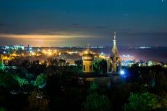 城市`卡胡尔` 免版税图库摄影