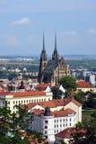 城市-布尔诺 免版税库存图片