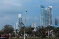 城市巴拿马地平线 免版税库存图片