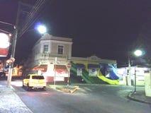 城市巴西汽车 库存照片
