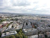 城市巴黎视图 库存照片