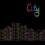 城市 皇族释放例证