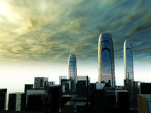 城市40 免版税库存图片