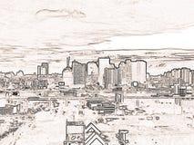 城市black&White 图库摄影