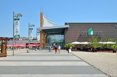 城市Constanta公园购物中心  库存照片