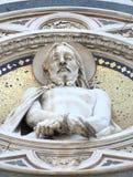 城市deatil佛罗伦萨壁画油漆 免版税库存图片