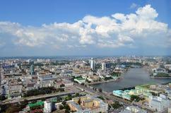 城市Ekaterinburg的看法 库存照片
