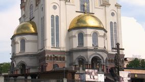 城市Ekaterinburg,俄罗斯 股票视频