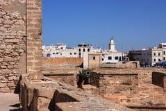 城市essaouira摩洛哥skala 库存照片