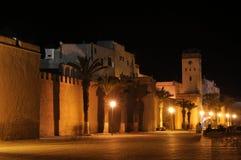 城市essaouria老墙壁 免版税图库摄影