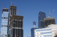城市expocenter莫斯科 免版税库存照片