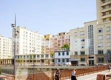 城市f马赛法国的中心 库存照片