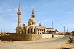 城市ghadamis利比亚清真寺 图库摄影