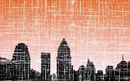 城市grunge 免版税图库摄影