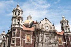 城市guadalupe墨西哥夫人我们的圣所 库存照片