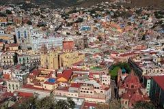 城市guanajuato墨西哥 免版税库存照片