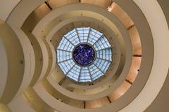 城市guggenheim博物馆新的solomon约克 免版税库存照片