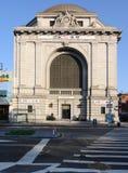 城市hsbc纽约 库存图片