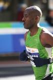 城市ing马拉松新的赛跑者约克 库存照片