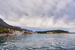 城市Makarska 库存照片