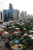 城市makati马尼拉地铁菲律宾 库存图片