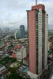 城市makati马尼拉菲律宾 图库摄影