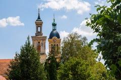 城市Modra,斯洛伐克 库存照片