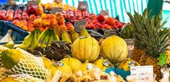 城市Orgenic果子和蔬菜批发市场 免版税图库摄影