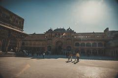 城市Palace.Jaipur,拉贾斯坦 免版税库存照片