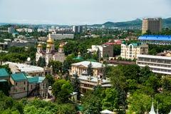 城市Pyatigorsk,北高加索 库存图片