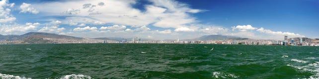 城市scape伊兹密尔 库存图片
