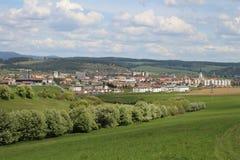 城市Spisska新星Ves,斯洛伐克 免版税库存照片