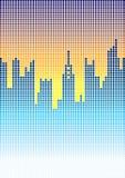城市techno 向量例证
