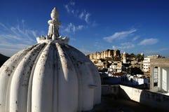 城市udaipur视图 库存照片
