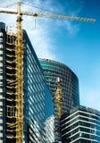 城市underconstruction 图库摄影