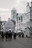 城市Wismar 免版税库存照片