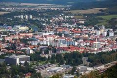 城市Zvolen,斯洛伐克 免版税库存照片