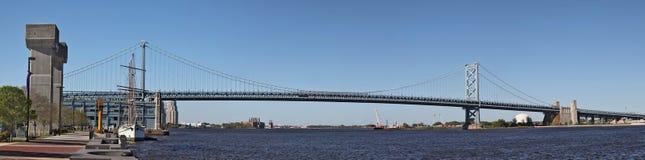 费城桥梁 图库摄影