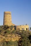 城楼,大峡谷国家公园,亚利桑那 免版税库存照片