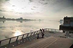 费城河岸 库存图片