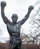 费城的公开拳击手 库存照片