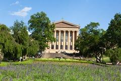 费城美术馆公园-宾夕法尼亚-美国 库存图片