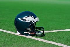 费城老鹰美国橄榄球联盟盔甲 库存图片