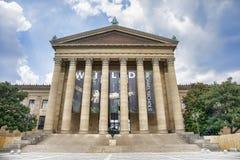 费城艺术馆入口 免版税库存照片