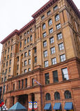 费城证券交易所大厦-费城-宾夕法尼亚- 2017年4月6日 免版税库存图片