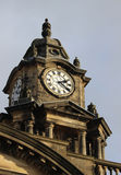 城镇厅和时钟,兰卡斯特,兰开夏郡 免版税库存照片
