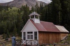 城镇厅和监狱在圣Elmo在科罗拉多 免版税库存图片
